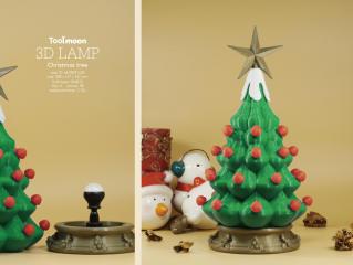 精美的闪亮圣诞树