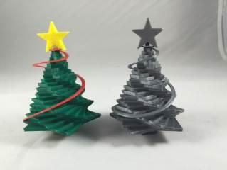 带星星的圣诞树
