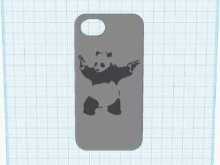 功夫熊猫iPhone5手机壳