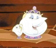 美女与野兽—茶壶太太