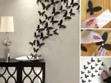 墙上的蝴蝶